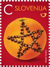 Novo leto C - pomaranča s klinčki