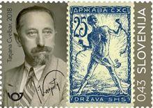 100. obletnica prvih slovenskih poštnih znamk