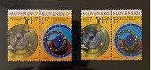 Sončna ura in astronomska ura (skupna izdaja Slovenija–Slovaška)