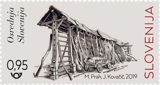 Slovenski kozolci - Osrednja Slovenija