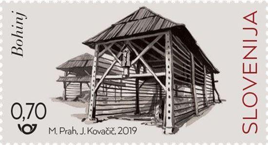 Slovenski kozolci - Bohinj
