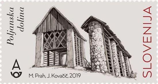 Slovenski kozolci - Poljanska dolina