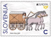 EUROPA - starorimski voz