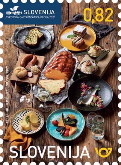 Slovenija - Evropska gastronomska regija 2021
