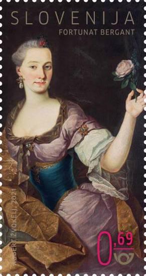 Fortunat Bergant in njegova dela - Marija Ana baronica Erberg